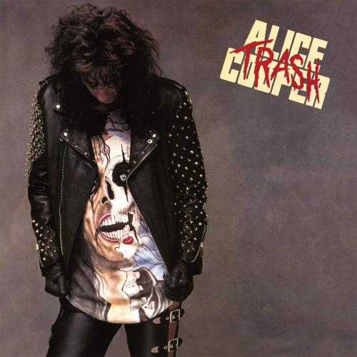 Alice Cooper - Trash Silver & Black Marbled