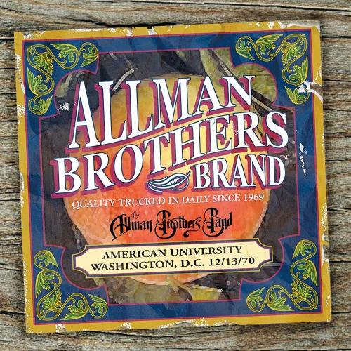 Allman Brothers Band - American University 12-13-70