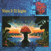 Allman Brothers Band - Where It All Begins Translucent Gold & Red Swirl Audiophile Poster