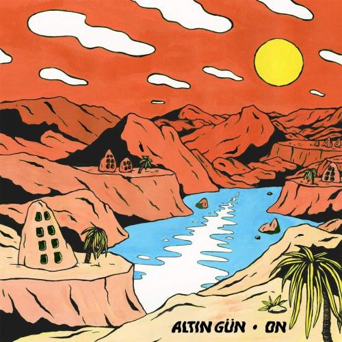 Altin GN - On Turquoise & White Swirl