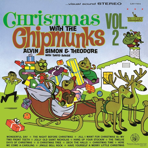 Alvin And The Chipmunks Christmas.Alvin The Chipmunks Christmas With The Chipmunks Vol 2