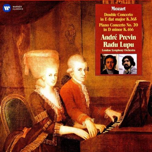André Previn - Mozart Piano Concertos Nos. 10 & 20