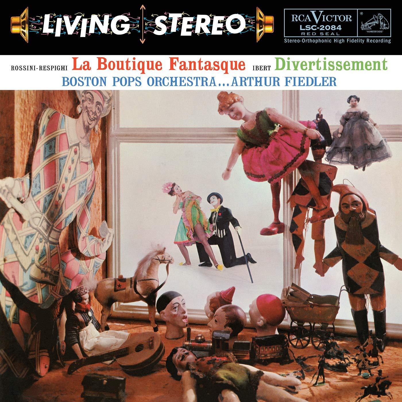 Arthur Fiedler - Rossini-Respighi - La Boutique Fantasque & Ibert - Divertissement All-Analog