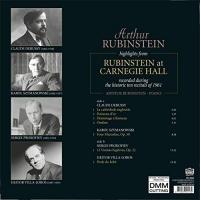 Arthur Rubinstein -Highlights From Rubinstein At Carnegie Hall