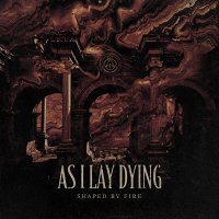 As I Lay Dying - Shaped By Fire Beer / Black Splatter In