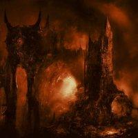 Asagraum -Dawn Of Infinite Fire Red Transparent