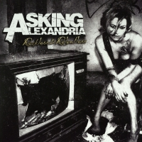 Asking Alexandria -Reckless And Relentless Transparent Cloudy Clear Includes Download