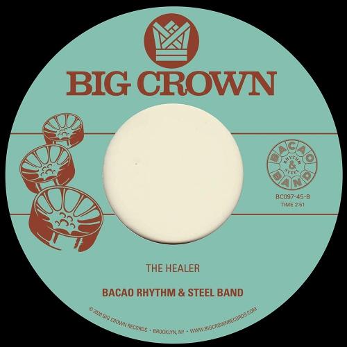 Bacao Rhythm  &  Steel Band - My Jamaican Dub B/W The Healer