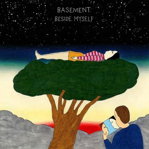 Basement - Beside Myself Red & Clear