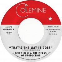 Ben Pirani -That's The Way It Goes
