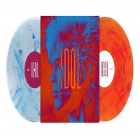 Billy Idol - Vital Idol: Revitalized Silver/white Orange/red Swirls