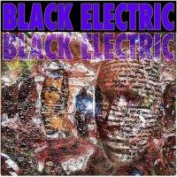 Black Electric -Black Electric (Purple / blue with splatter)