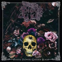 Black Juju -Purple Flower, Garden Black