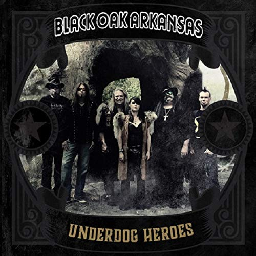 Black Oak Arkansas - Underdog Heroes -  Only 300 Made Gold Color