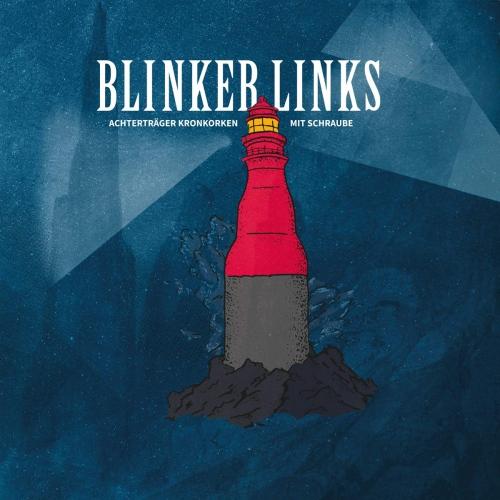 Blinker Links - Achterträger Kronkorken Mit Schraube