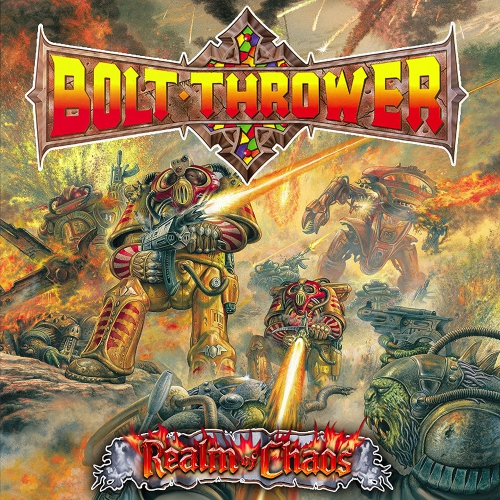 Bolt Thrower - Realm Of Chaos Metal Matters Red Fdr Vinyl.