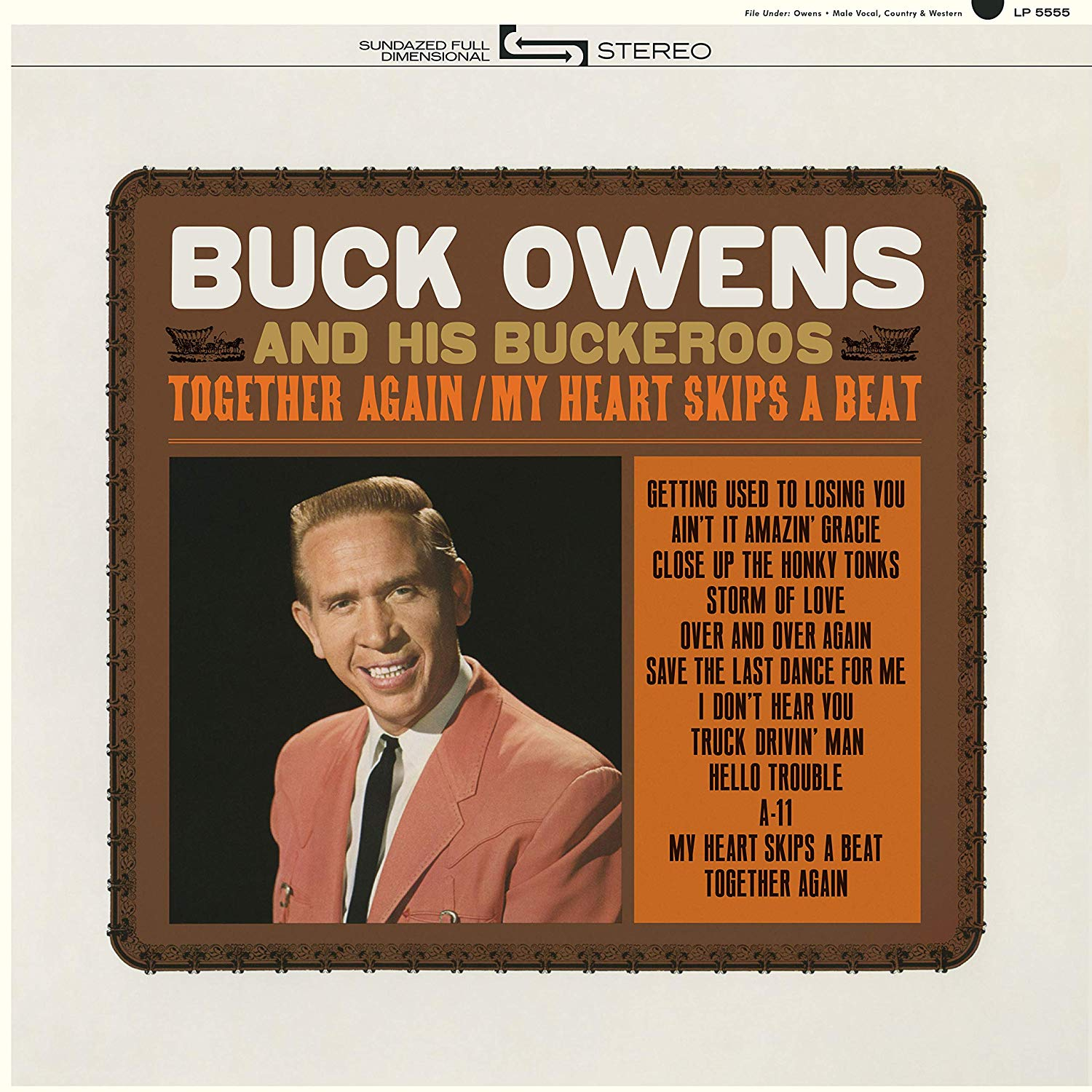 Buck Owens - Together Again / My Heart Skips A Beat