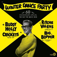 Buddy Holly - Winter Dance Party White
