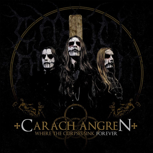 Carach Angren - Where The Corpses Sink Forever Ltd. Gold + Black Mixed