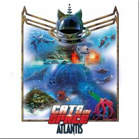 Cats In Space -Atlantis