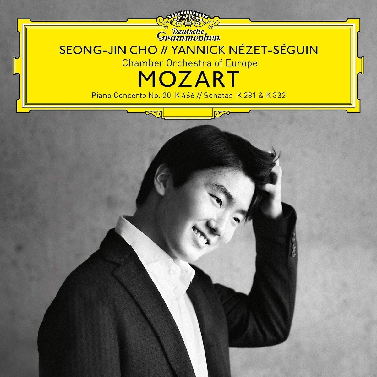 Cho/n'zet-S'guin/chamber Orchestra Of Europe - Mozart Piano Concerto No. 20, K. 466; Sonatas, K. 281 & 332