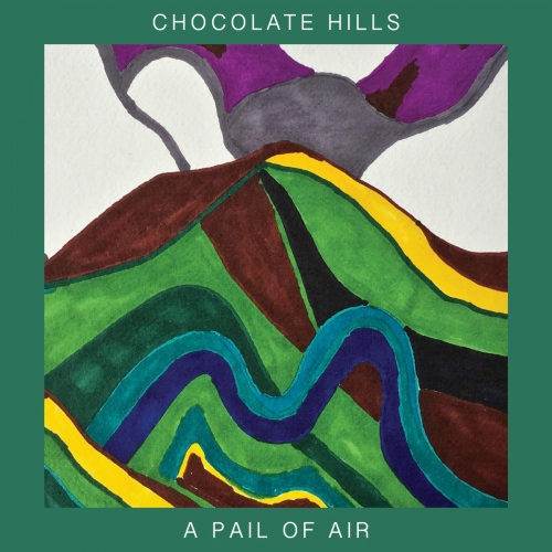 Chocolate Hills -Pair Of Air Red, Colored