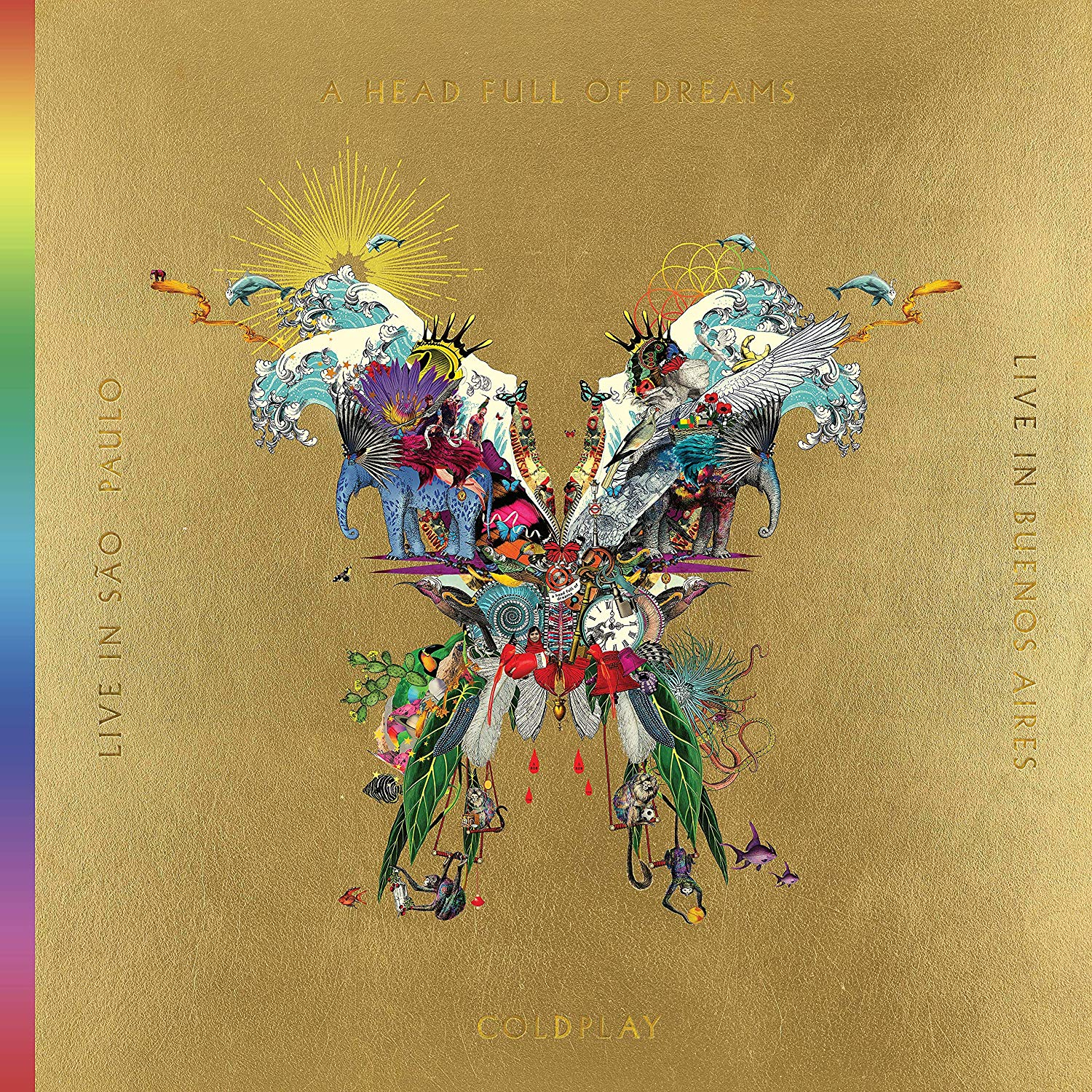 Coldplay - Live In Buenos Aires Gold