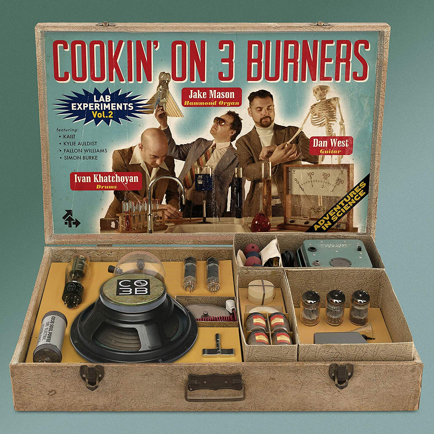 Cookin' On 3 Burners - Lab Experiments Vol. 2