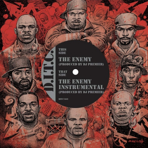 D.i.t.c. - The Enemy Produced By Dj Premier / Instrumental
