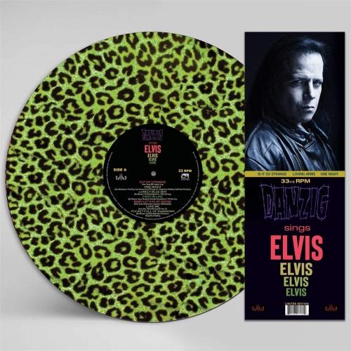 Danzig - Sings Elvis - A Gorgeous Green Leopard Picture Disc Vinyl
