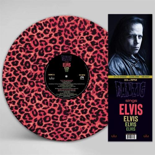 Danzig -Sings Elvis - A Gorgeous Pink Leopard Picture Disc Vinyl