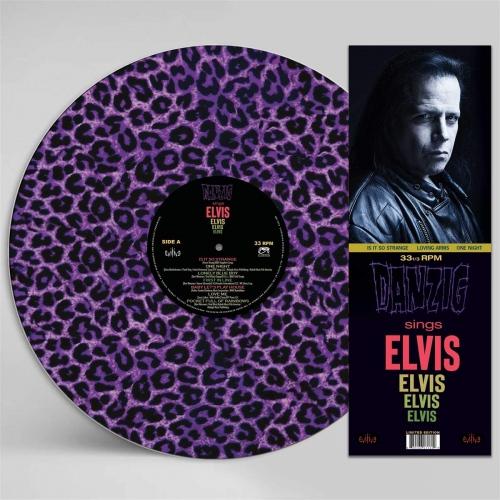 Danzig - Sings Elvis - A Gorgeous Purple Leopard (Picture Disc)