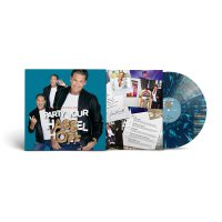 David Hasselhoff - Party Your Hasselhoff - Green/Blue & White Splatter Vinyl, 2 Bonus Tracks