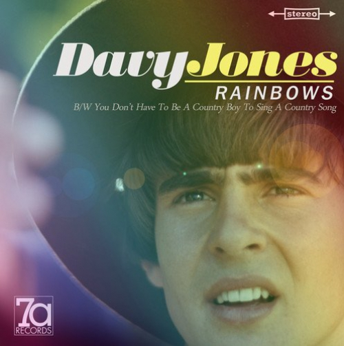 Davy Jones - Rainbows / You Don't Have To Be A County Boy To Sing A Country Song