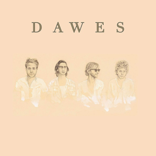 Dawes - North Hills 10 Year Anniversary Edition  Red Translucent