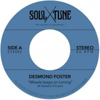 Desmond Foster - Wheels Keeps On Turning / Attitude