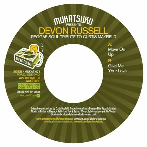 Devon Russell -Mukatsuku Presents Reggae Soul Tribute To Curtis Mayfield