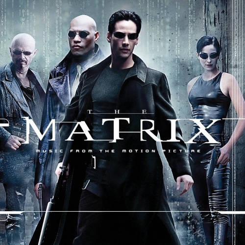 "Don Davis - The Matrix: Music From The Soundtrack Limited Red & Black ""squiddy"" Edition"