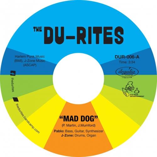 Du-Rites (J-Zone & Pablo Martin) - Mad Dog / Cheap Cologne