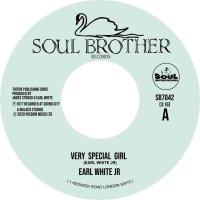 Earl White Jr -Very Special Girl / Never Fall In Love Again