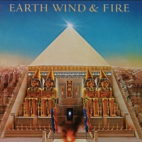 Earth Wind & Fire - All N All Translucent Gold Audiophile 40Th Anniversary Poster