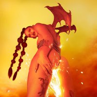 Eartheater - Phoenix: Flames Are Dew Upon My Body (Red vinyl)