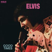 Elvis Presley - Good Times Translucent Gold & Blue Swirl Poster