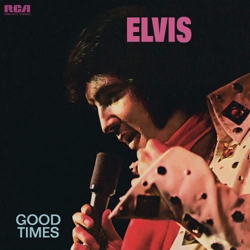 Elvis Presley - Good Times Translucent Gold & Blue Swirl Poster