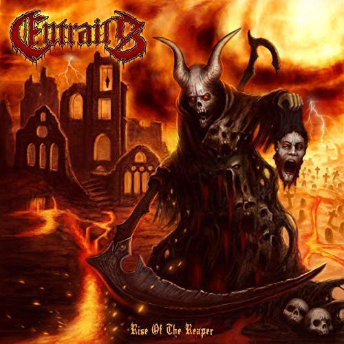 Entrails - Rise Of The Reaper Clear Orange &