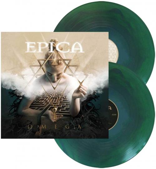 Epica -Omega (Blue / green swirl vinyl)