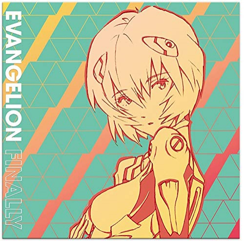 Evangelion Finally  /  O.S.T. (Blue Rei-Nbow Vinyl) -Evangelion Finally
