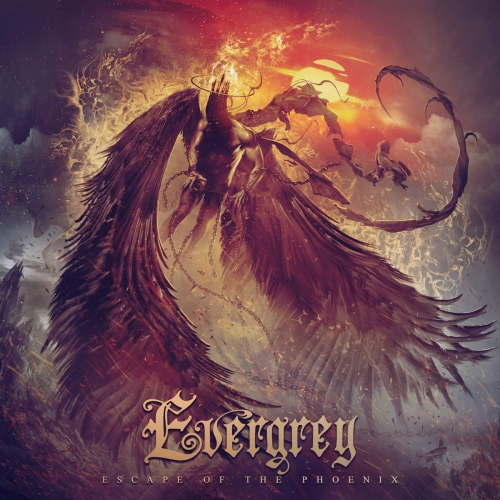 Evergrey -Escape Of The Phoenix (Clear red vinyl)