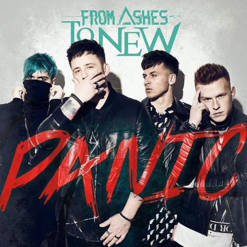 From Ashes To New -Panic (Red translucent vinyl)