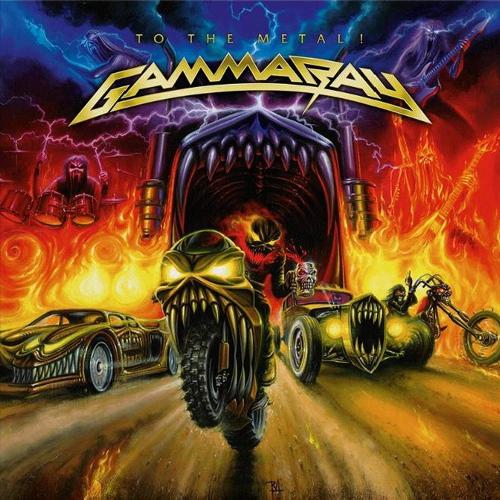 Gamma Ray -To The Metal! (Orange vinyl)